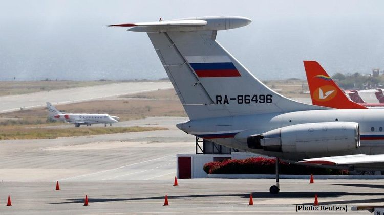 Russian military planes land in Venezuela