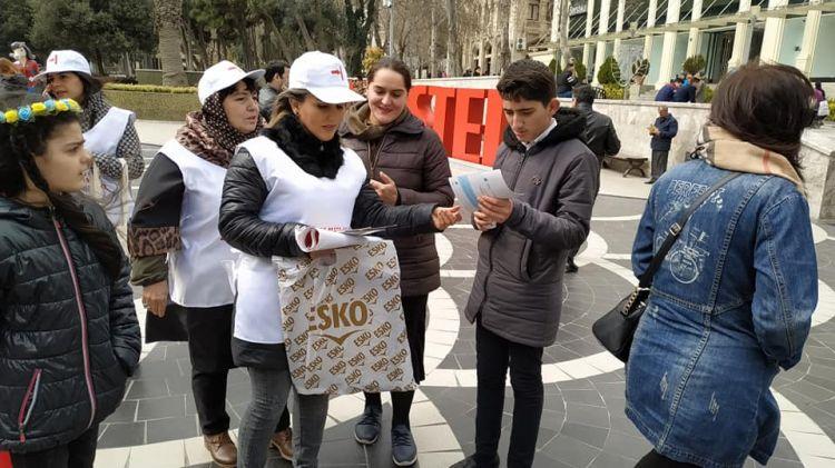 Бакинская полиция против борьбы с туберкулезом? - ФОТО