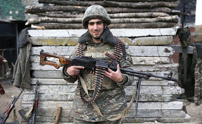 Служить в Карабахе в качестве наказания за бунт...