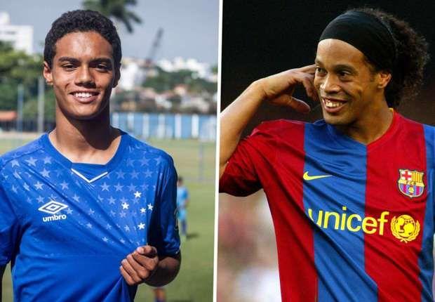 Ronaldinyonun oğlu Braziliya klubu ilə müqavilə bağladı
