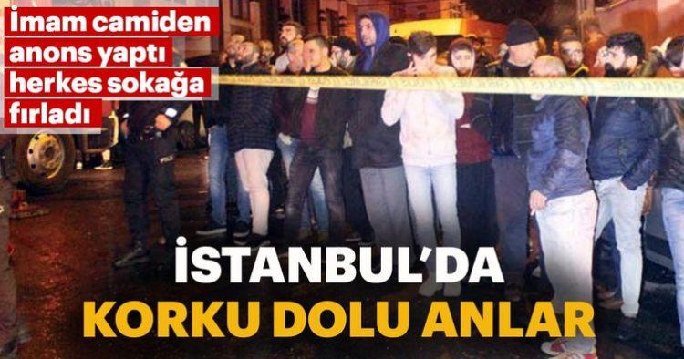 Son dakika: İstanbul'da korku dolu anlar! - Eyüpsultan'da yangın