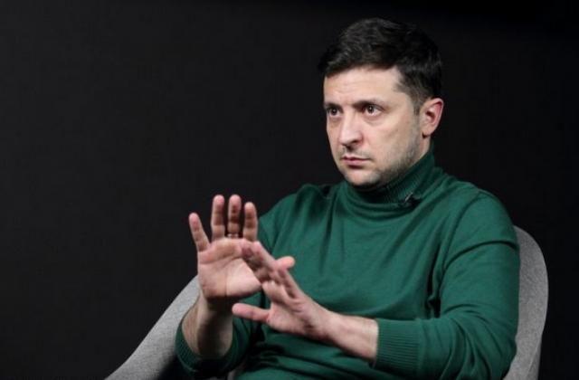 """Zelenski """"Parni iz Baku"""" KVN komandasından danışdı - VİDEO"""