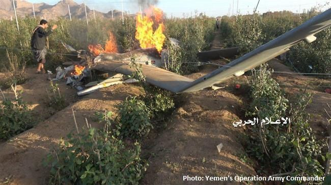 Yemeni forces shoot down Saudi-led reconnaissance drone in Sa'ada