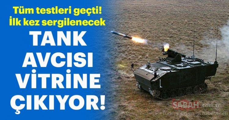 """Türkiye'nin tank avcısı """"Kaplan"""" vitrine çıkıyor"""