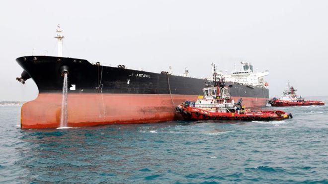 أمريكا تنهي جميع إعفاءات استيراد النفط الإير اني وأسعار الخام تقفزg