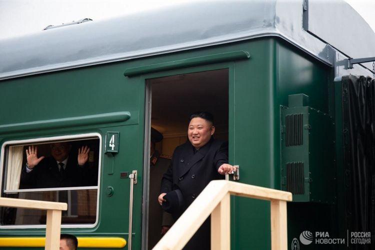 Глава КНДР Ким Чен Ын приехал во Владивосток