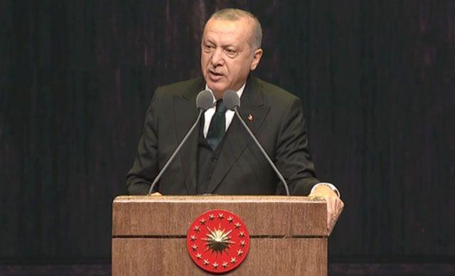 Cumhurbaşkanı Erdoğan - Bize insan hakları dersi vermeye çalışanların geçmişi kanlı