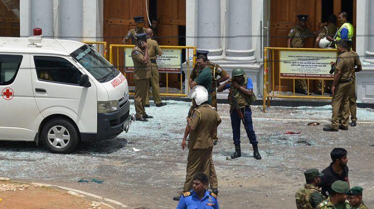 В Шри-Ланке прогремел новый взрывg