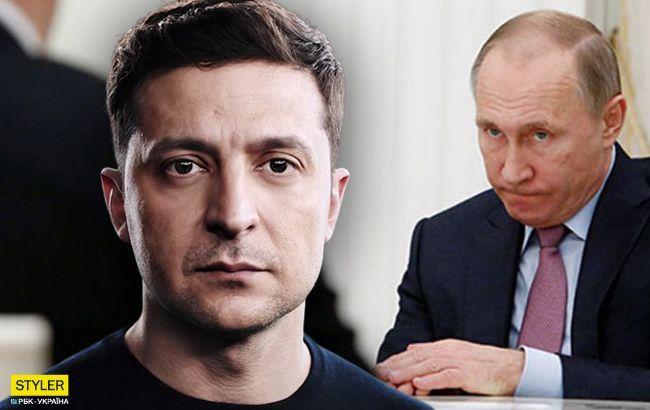 Зеленский о Путине и Россииg