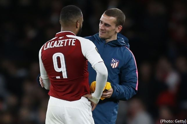 Arsenal striker Alexandre Lacazatte will replace Antoine Griezmann at Atletico Madrid - Diego Simeone said