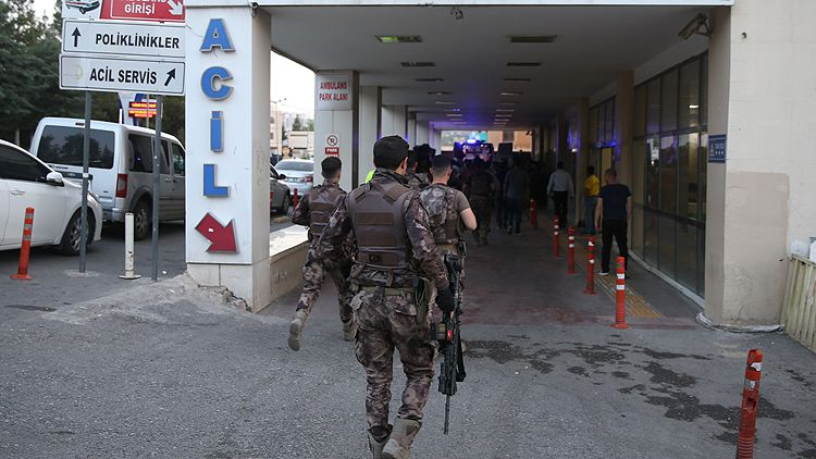 Şanlıurfa'da terör operasyonu - 1 komiser yardımcısı şehit oldu, 2 polis yaralandı