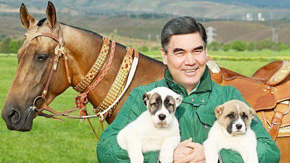 Туркменский президент пишет книгу о собаках