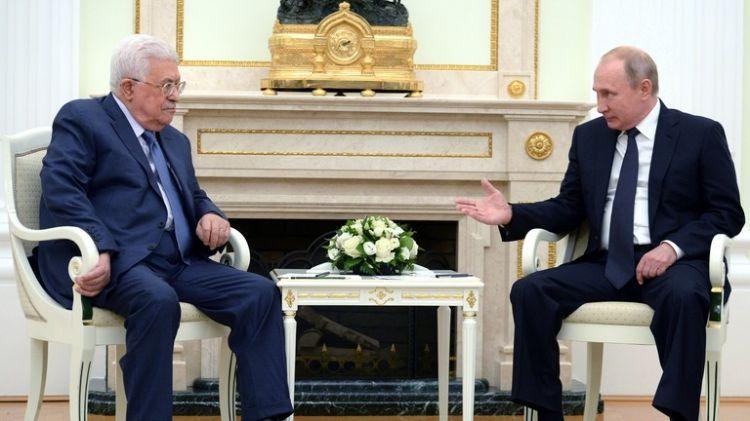 عباس يتسلم رسالة من بوتين
