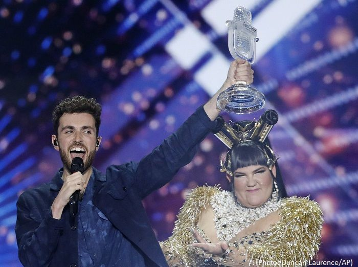 The Netherlands wins Eurovision Song Contestg