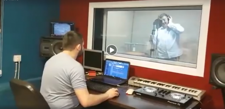 Deputy principal at British School Baku Philip Roche recorded a song to support the project with the IEPF
