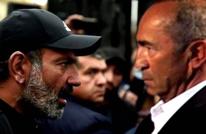 """Paşinyan-Koçaryan ixtilafı dərinləşir - """"Qarabağda vətəndaş qarşıdurması""""..."""