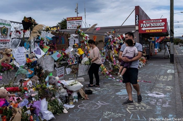 Man Accused in Christchurch Mosque Shootings Now Faces Terrorism Charge - VIDEO