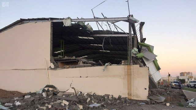Houthi rebels launch drone attack on Saudi facility
