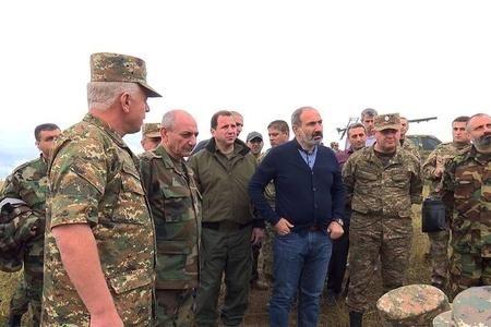 """Paşinyan generalların məruzəsini dinlədi, """"nitqi tutuldu""""... - Təmas xəttində nə baş verir?"""