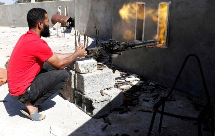 تعزيزات تدعم الجيش الليبي على مشارف طرابلس