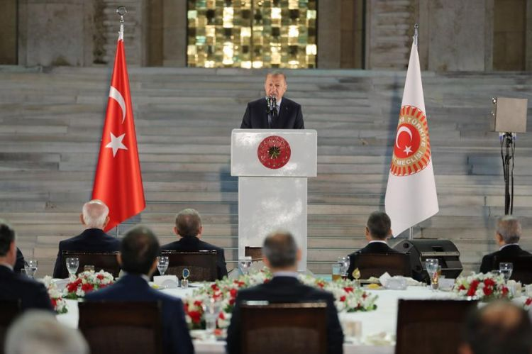 'We will live in different Turkey in 2023, if we can overcome threats' - Erdogan calls Turkey to unity