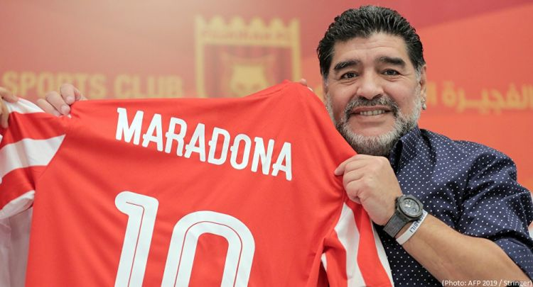 Maradona arrested at Buenos Aires airport