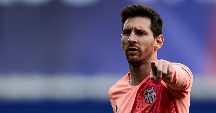 502fe1ee386 Messi has dismissed any rumours that he'll be leaving the Nou Camp this  summer. The five-time Ballon ...
