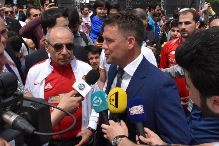 """""""Bakı çox inkişaf edib, gözəlləşib, müasirləşib"""" - İngiltərə futbolunun əfsanəsi"""