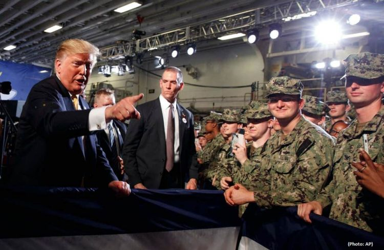 Trump was unaware about the navy ship in Japan's coast | Eurasia Diary