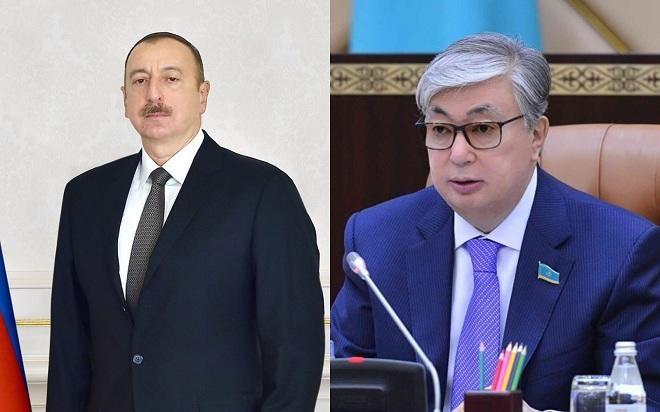 Prezident İlham Əliyev Qazaxıstanın yeni prezidentini təbrik edib