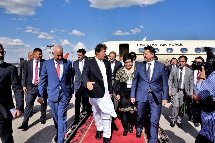Pakistani PM Imran Khan in Bishkek to attend SCO's Council of the Heads of State Meeting - PHOTOS