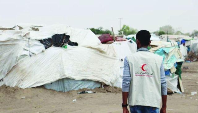 الإمارات تغيث 1850 أسرة من متضرري سيول اليمن