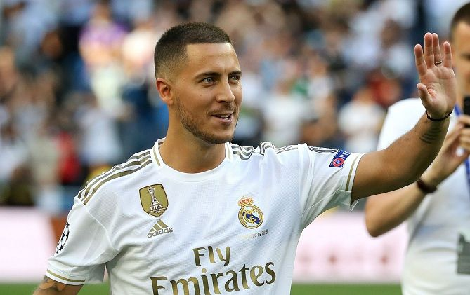 """""""I'm not a """"Galactico"""", not yet, I hope to be one day"""" - Hazard of Real"""