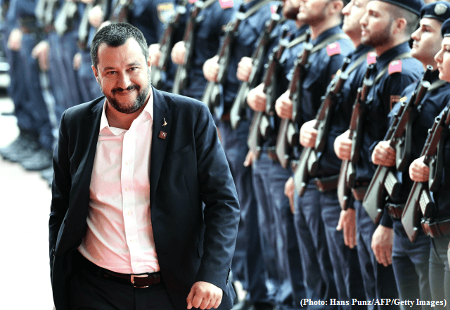 Italian Police back Salvini for migration and security decree