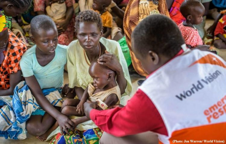 Record number of people face severe hunger - South Sudan - VIDEO