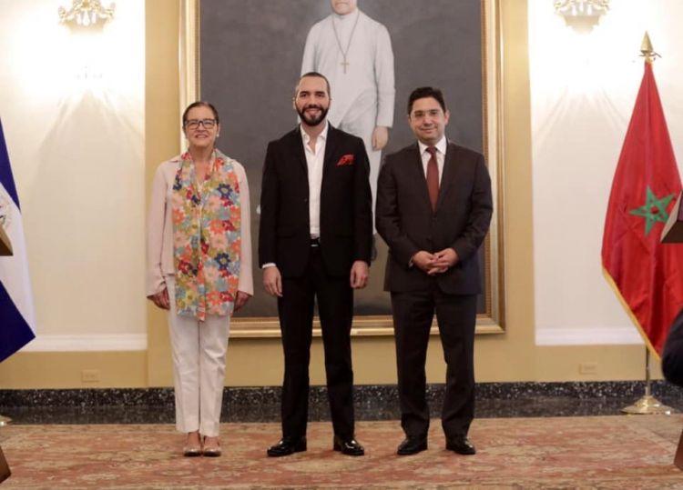 """السلفادور تسحب اعترافها بـ""""جمهورية"""" البوليساريو ورئيسها يؤكد: سنقوي علاقاتنا مع المغرب ونفتح الأبواب مع العالم العربي"""