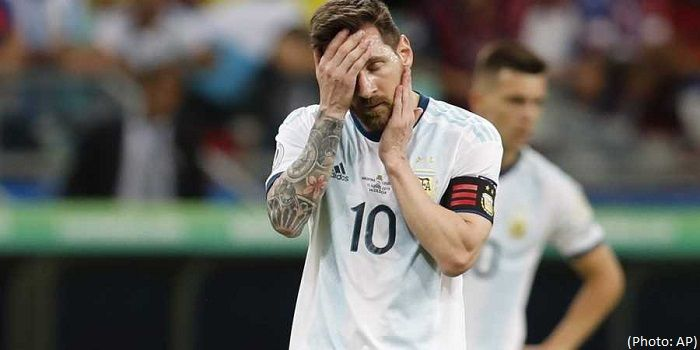 We leave here feeling bitter - Says Messi after loss to Colombia in Copa America 2019