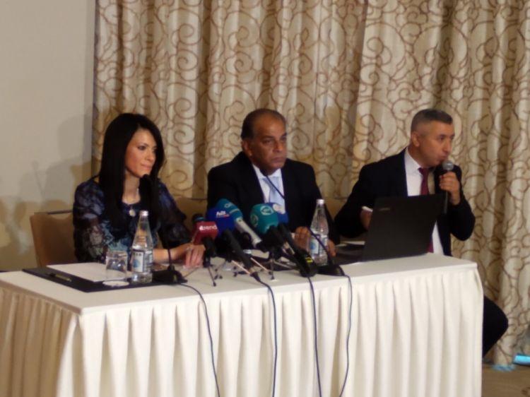 """معالي وزيرة السياحة المصرية السيدة د. رانيا المشاط: """" نريد توسيع العلاقات السياحية بين أذربيجان ومصر"""" - الفيديو - الصور الفوتوغرافية"""