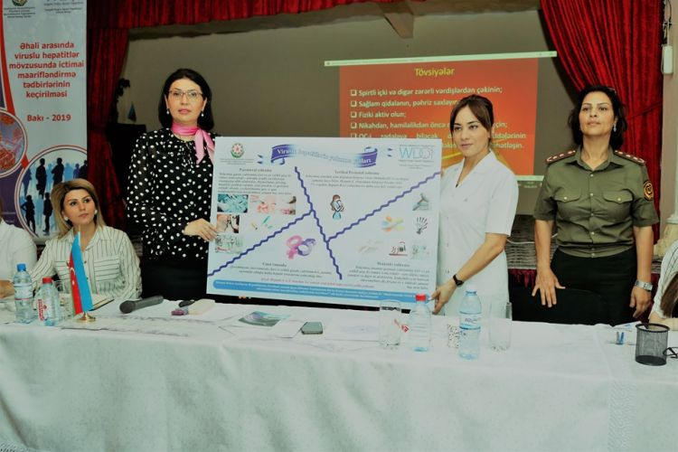 """NGO held an event for women prisoners within the frameworks of """"Holding Public Awareness on Virus Hepatitis"""" project - PHOTOS"""