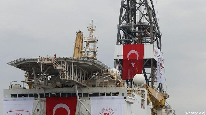 EU calls on Turkey to stop 'illegal' drilling off Cyprus