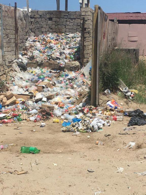 Борьба за чистоту в Хазарском районе