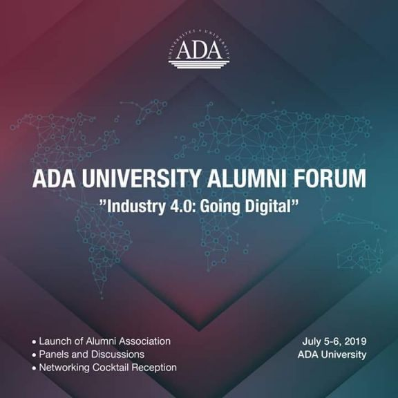 Last days to apply for ADA University Alumni Forum 2019