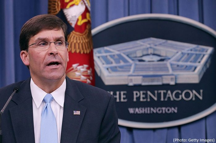 Trump nominates Mark Esper as Pentagon chief