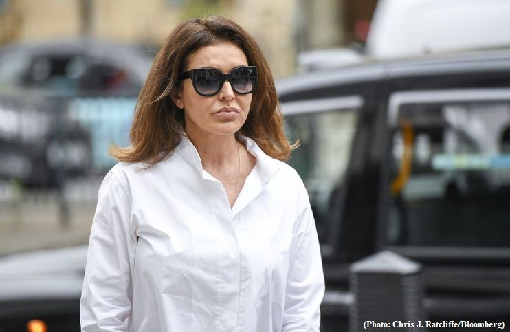 Wife of jailed banker facing extradition under 'McMafia' laws