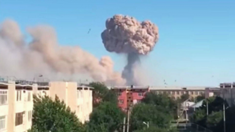 Kazakhstan explosion left 2 dead, hundreds injured