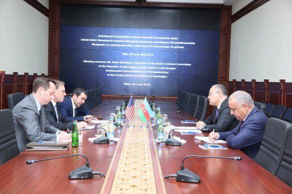 Посол США: «Азербайджанская таможня – это история успеха»