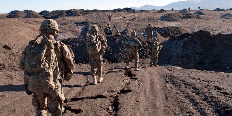 US military says 2 troops were killed in Afghanistan