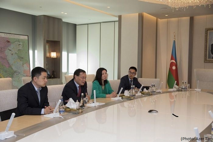 SOCAR, China's Silk Road Fund discuss cooperation prospects