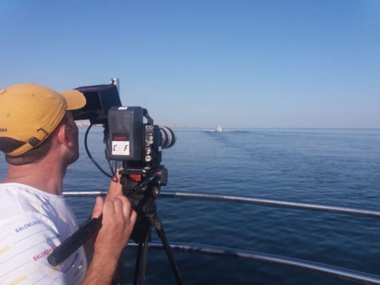 القناة التي تجولت أذربيجان شبراً بشبر - الجزيرة تنهي التصوير- صور