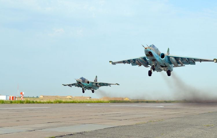 Azerbaijani Army continues Combat training of the Air Force aircraft - VIDEO - PHOTOS